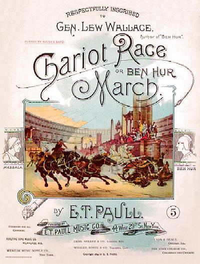 The Chariot Race, or, Ben Hur March (Later)