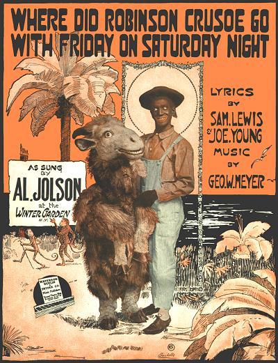 Where Did Robinson Crusoe Go With Friday On Saturday Night