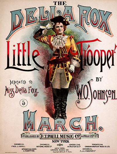The Della Fox Little Trooper