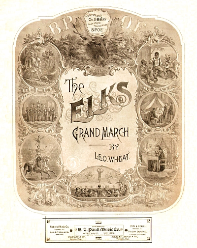The Elks Grand March (original cover)