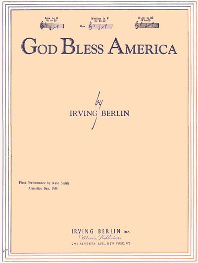 god bless essay Articles and essays with this item: god bless america reprinted by permission recording of god contributor: berlin, irving - schissel.