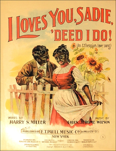I Loves You, Sadie, 'Deed I Do