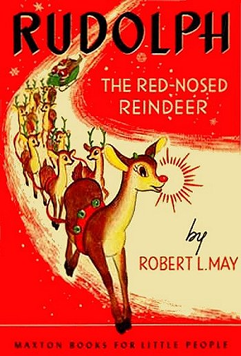 1950s Rudolph the Red-Nosed Reindeer book