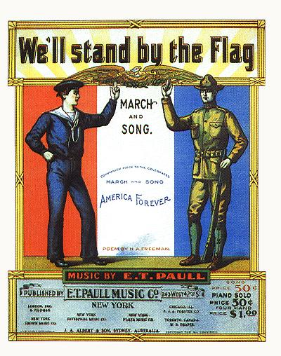 We'll Stand by the Flag (Reprint)