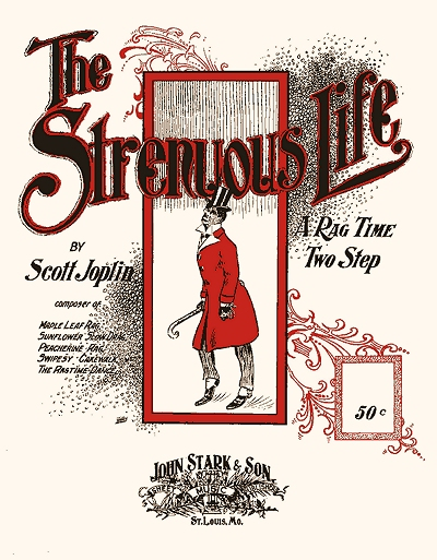 the strenuous life first edition cover