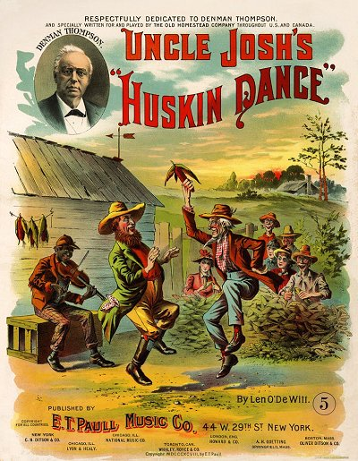Uncle Josh's Huskin Dance