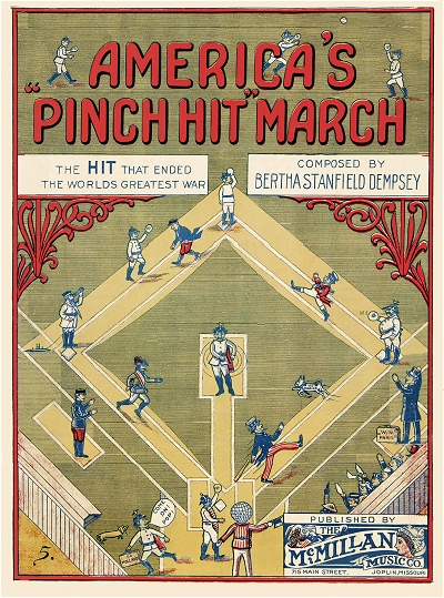 america's pinch hit march cover