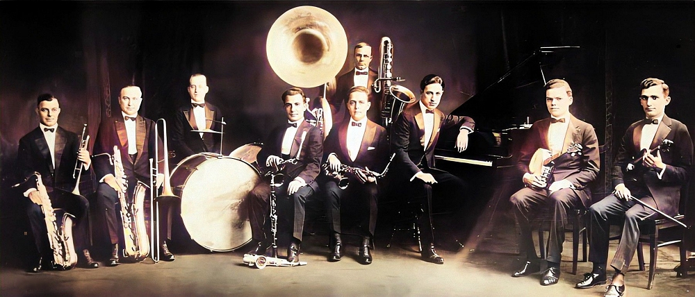 roy bargy and the benson orchestra in 1922