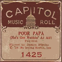 jimmy blythe capital piano roll label