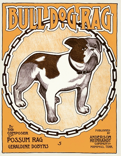 bull dog rag cover