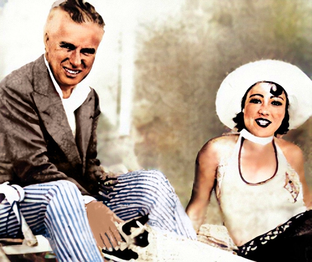 chaplin with may reeve