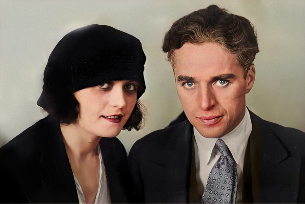 charlie with pola negri