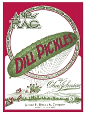 dill pickles rag cover