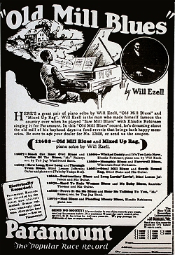 a paramount ad for an ezell release