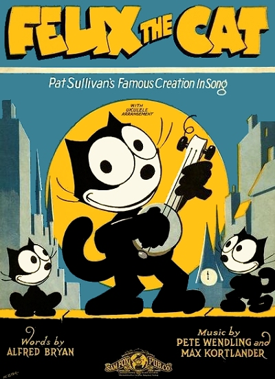 felix the cat cover