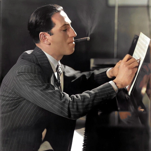 gershwin at work in the mid 1930s
