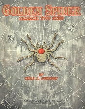 golden spider rag cover