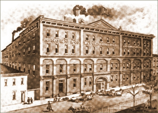 the a. hoen factory in richmond, virginia