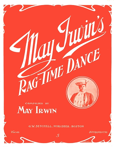 may irwin's ragtime dance cover