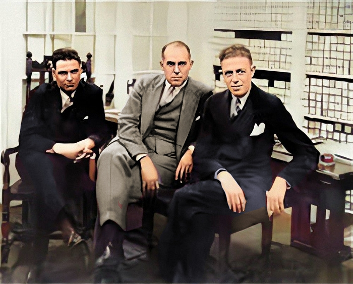 phil ohman, max kortlander and victor arden
