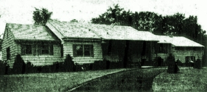kortlander's westchester home in the 1930s