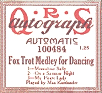 qrs fot trot medley roll label