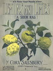 lemons and limes rag cover