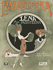 lena from palesteena cover