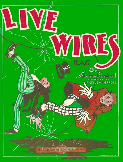 live wires rag cover