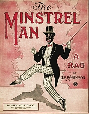 minstrel man rag cover