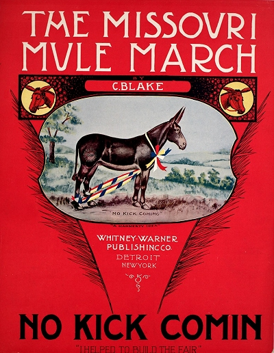 missouri mule cover