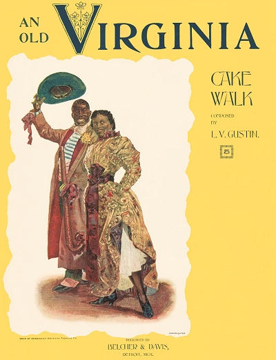 an old virginia cake walk cover