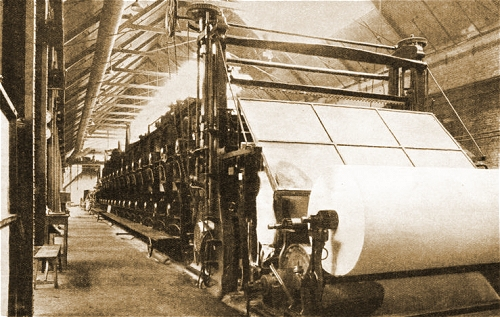 paper mill rolling machine