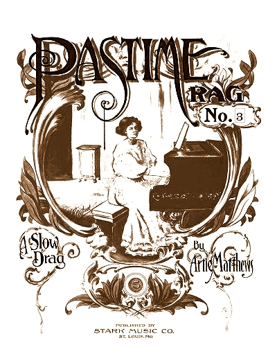 pastime rag #3 cover