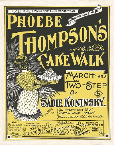 phoebe thompson's cakewalk cover