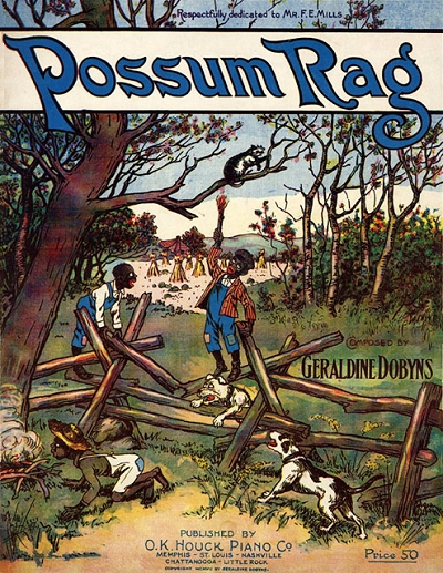 possum rag cover