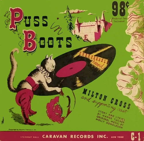 puss in boots album cover