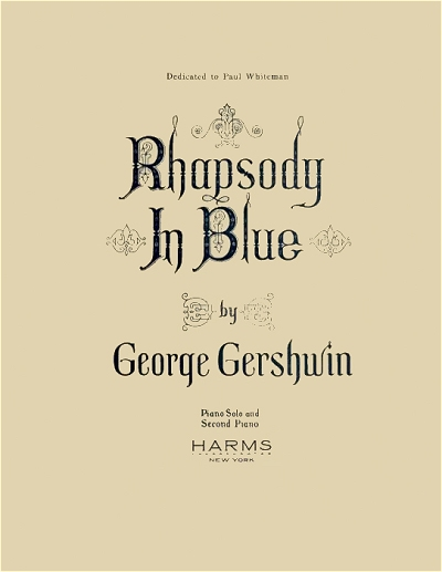 original rhapsody in blue cover