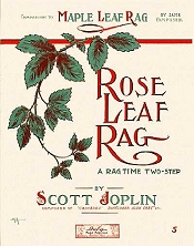 rose leaf rag cover