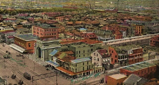 storyville post card c.1910