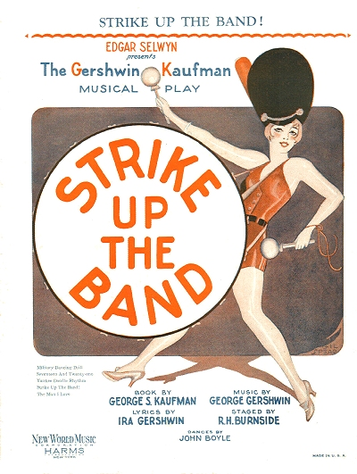 strike up the band cover