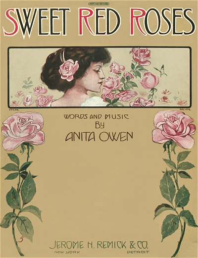 sweet red roses cover