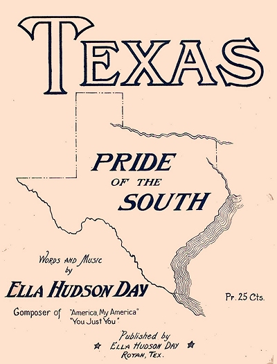 texas pride of the south cover
