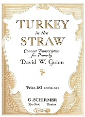 turkey in the straw concert arrangment cover