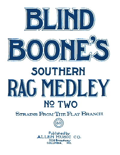 blind boone rag medley #2 cover