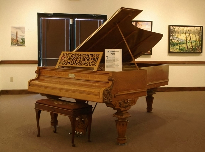 john 'blind' boone's chickering grand piano